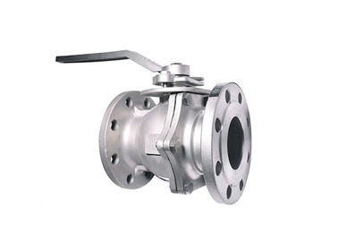 Reduced Bore / Full Bore Floating Ball Valve With Stainless Steel Material